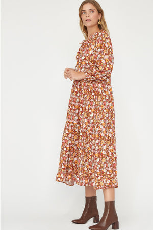 FLORAL BERKELEY DRESS