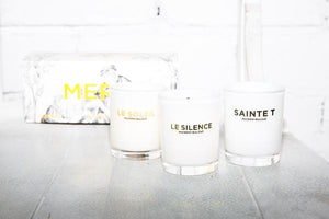 Load image into Gallery viewer, MERCI TRIO CANDLE SET