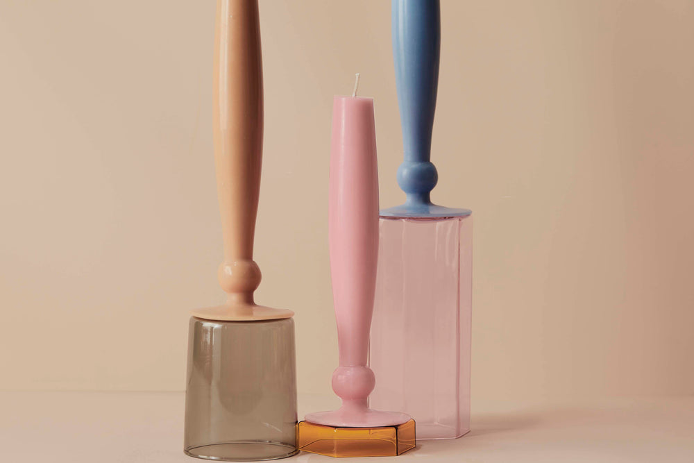 Load image into Gallery viewer, GABRIELLE CANDLE - PINK