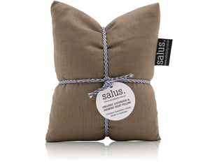 Load image into Gallery viewer, ORGANIC LAVENDER & JASMINE HEAT PILLOW - OLIVE