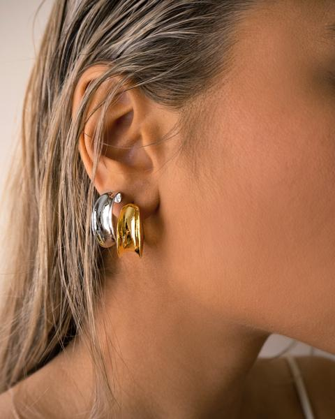 MARGOT HOOPS - GOLD