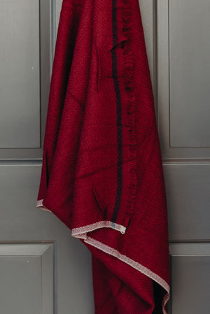 Load image into Gallery viewer, SARA SCARF - BURGUNDY