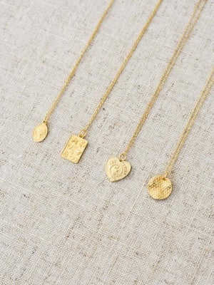 HEART PENDANT 18K NECKLACE