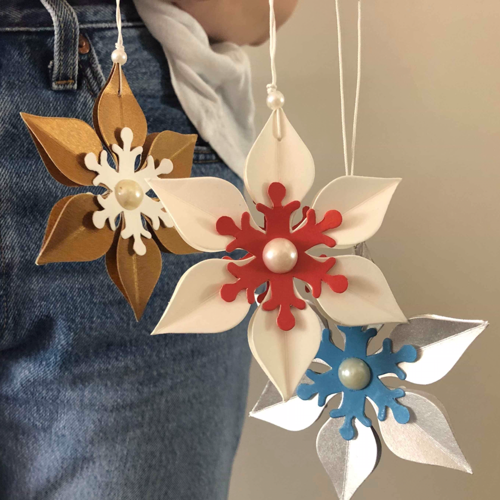 SIX POINT STAR - CHRISTMAS DECORATION