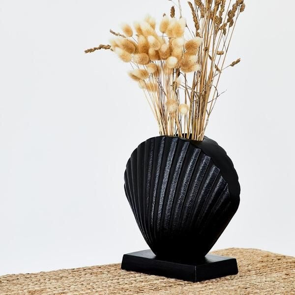 Load image into Gallery viewer, MIDNIGHT CLAM VASE