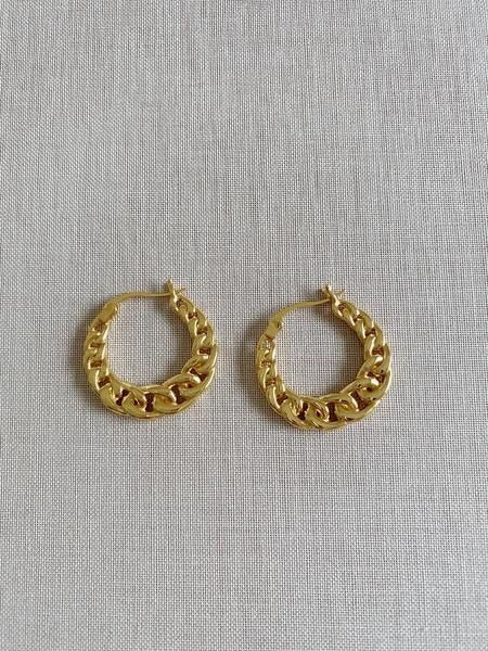 Load image into Gallery viewer, CELINE CHAIN LUXE EARRINGS