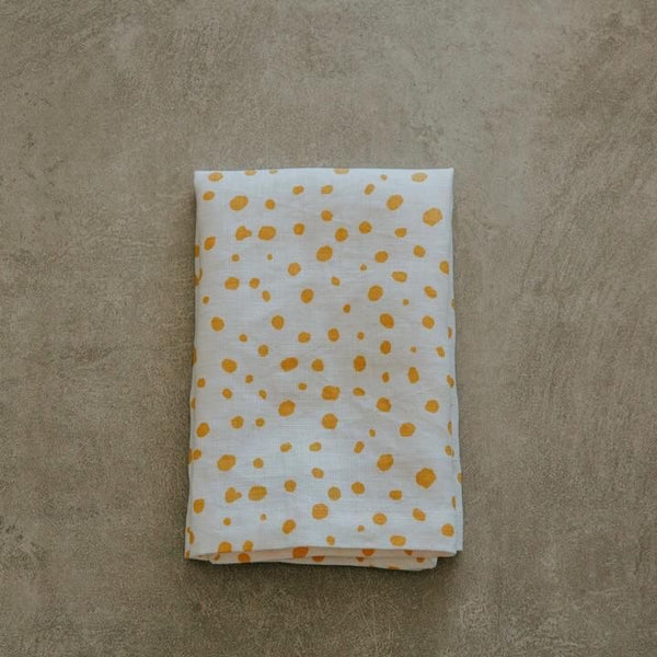 PEBBLE PRINT LINEN NAPKINS - SET OF FOUR