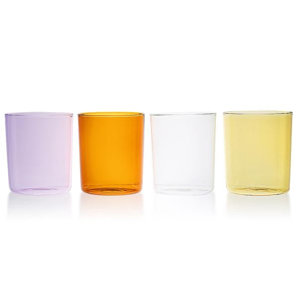 GOBLETS MEDIUM SET OF 4 - SUMMER