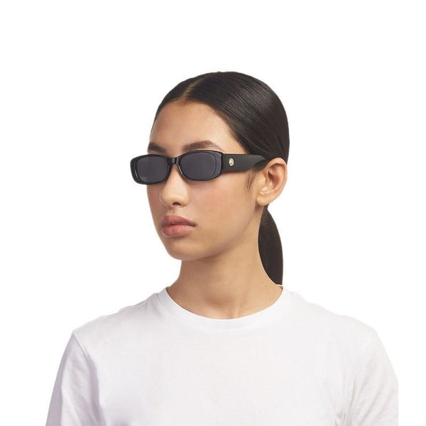 UNREAL SUNGLASSES - SHINY BLACK