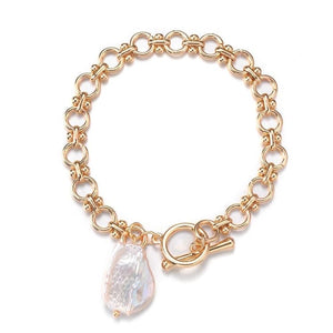 Load image into Gallery viewer, LYNETTE FRESHWATER PEARL BRACELET