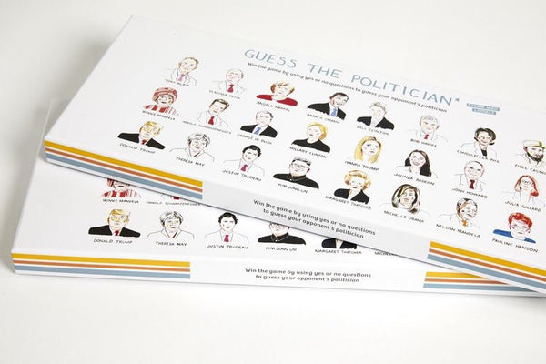 PRE ORDER - GUESS THE POLITICAN - DUE 1st APRIL