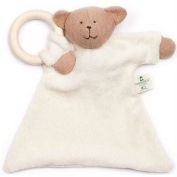ORGANIC BEAR - TEETHING RING 20CM
