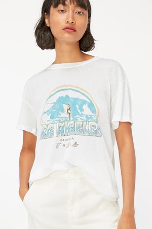 KAI TEE - SURF GRAPHIC WHITE & SLATE