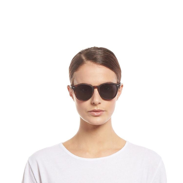 BANDWAGON SUNGLASSES - MATTE TORT - POLARISED
