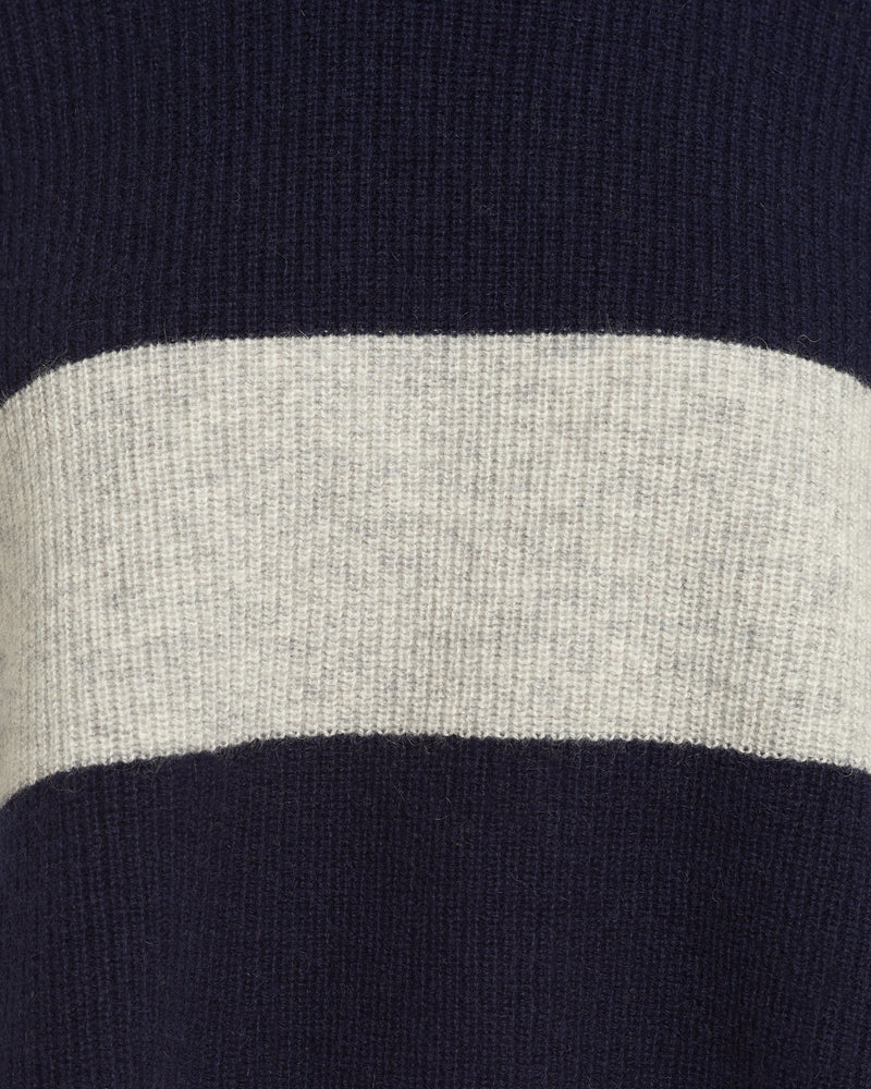 Load image into Gallery viewer, BLOCK PULLOVER - NAVY / GREY