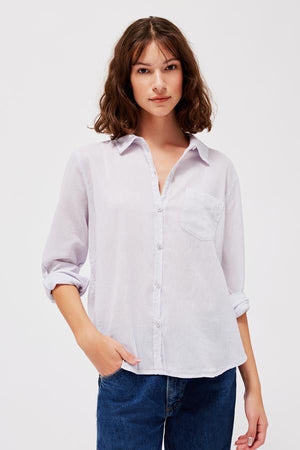 TWILL NASH BUTTON DOWN - ICE
