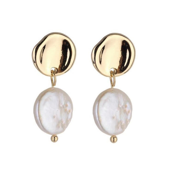 DIPALI FRESHWATER PEARL EARRINGS