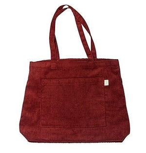 Load image into Gallery viewer, JUMBO CORD TOTE - RUST