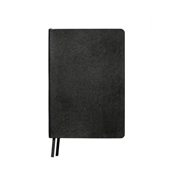 LINED LEATHER LOOK NOTEBOOK