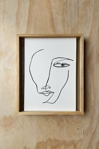 KNOWING - FINE ART PRINT A4