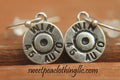 Gun Necklace with earrings