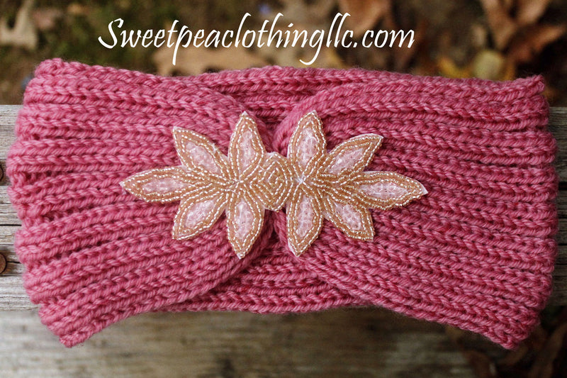 Pouting Pink Crystal Headband