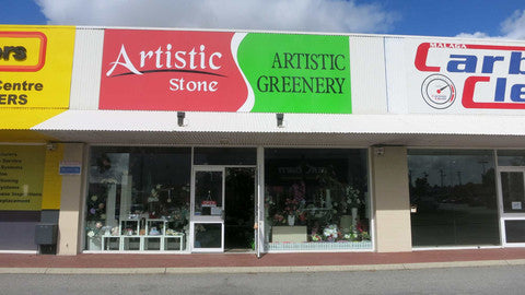 Artistic Stone Shop Front