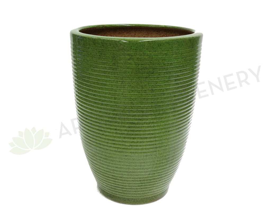 Green Round Pot (Ceramic) (Code: CER002)