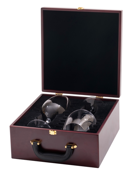 Riedel Wine Glass Gift Set - 2 Riedel Vinum XL Wine Glasses with Travel Case