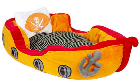 Pirate Ship Dog Bed