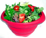 Silicone Collapsible Bowl - Red - WellBake
