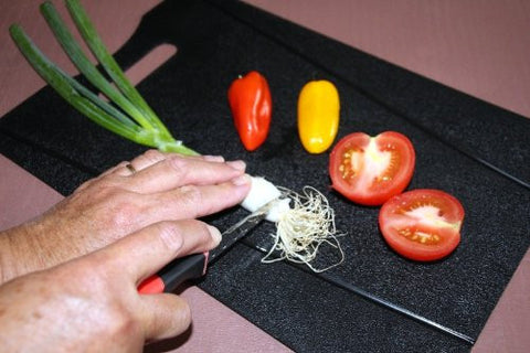 Anti-bacterial Chopping Mat Set + FREE Garlic Peeler
