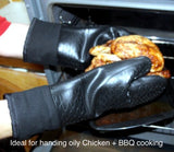 NoBurn Lined Oven Mitts-Pair