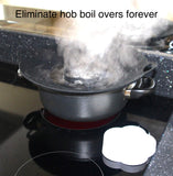 NOBURN- Anti-Boil Over Lid + Free seal Fresh cap.