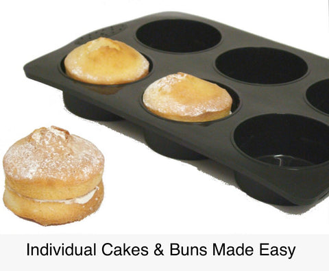 JUMBO Extra Large Muffin / Pie Tray - 6 Cup.