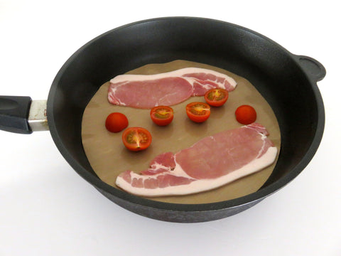 Round Cooking Liner Mat Brown - 30cm - WellBake
