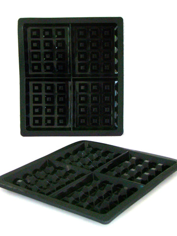 Silicone Waffle Pan TWIN Pack - WellBake