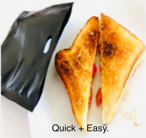 Multi Purpose Reusable Toasted Sandwich Bags. Twin Pack