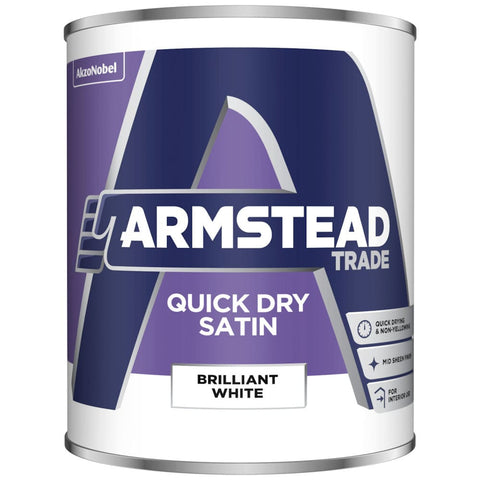 Armstead Trade Quick Dry Satin Brilliant White