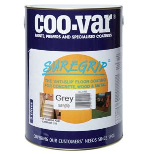 Coo-Var SureGrip Antislip Safety Floor Paint - Colour Supplies (Chesham) Ltd