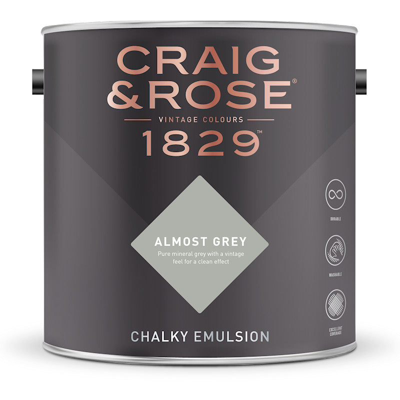 Craig & Rose 1829 Almost Grey Tin