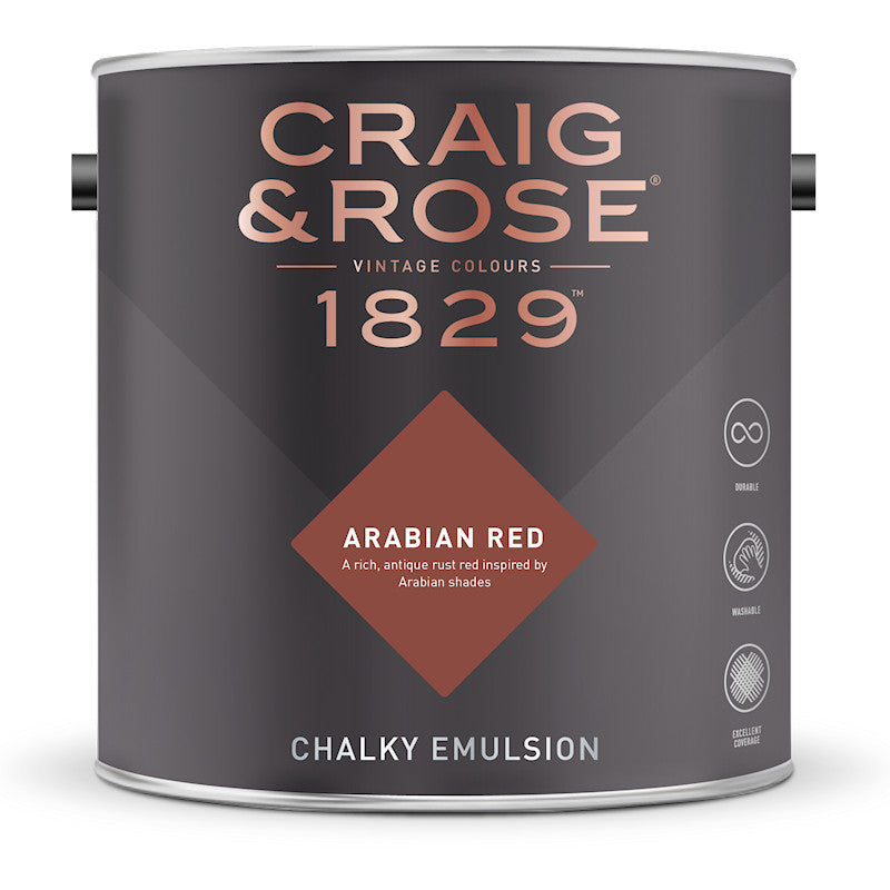 Craig & Rose 1829 Arabian Red Tin
