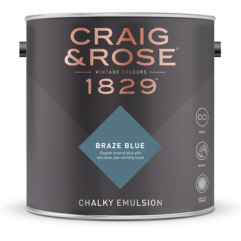 Craig & Rose 1829 Braze Blue Tin