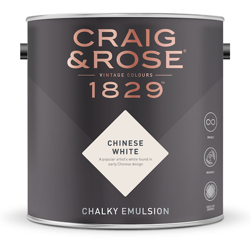 Craig and Rose 1829 Chinese White Tin