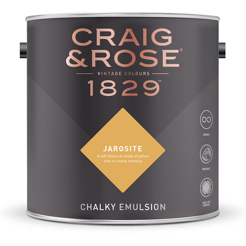 Craig & Rose 1829 Jarosite Tin