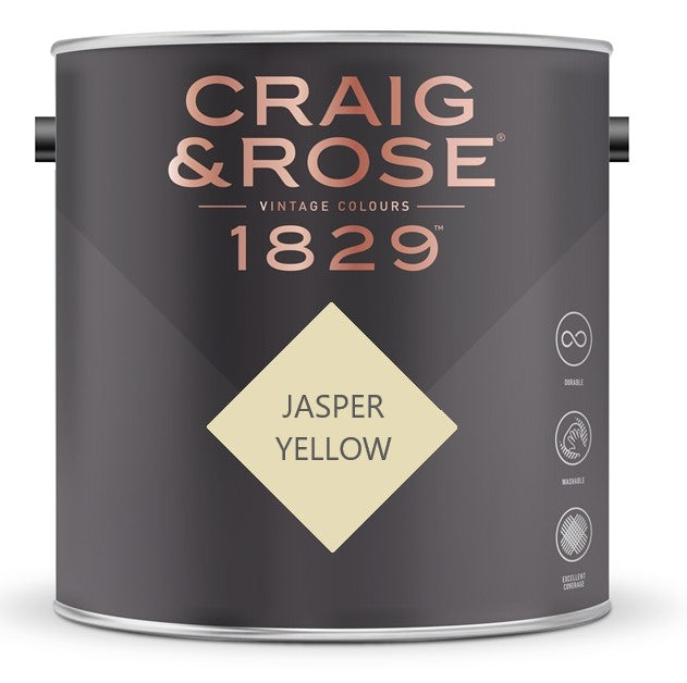 Craig & Rose 1829 Jasper Yellow Tin