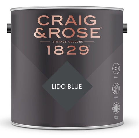 Craig & Rose 1829 Lido Blue Tin
