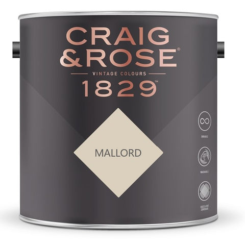 Craig & Rose 1829 Mallord Tin