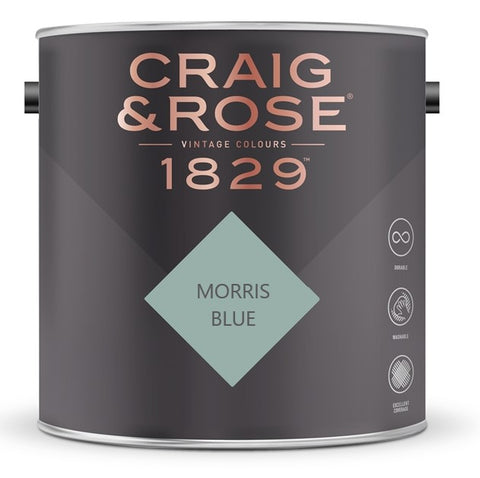 Craig & Rose 1829 Morris Blue Tin