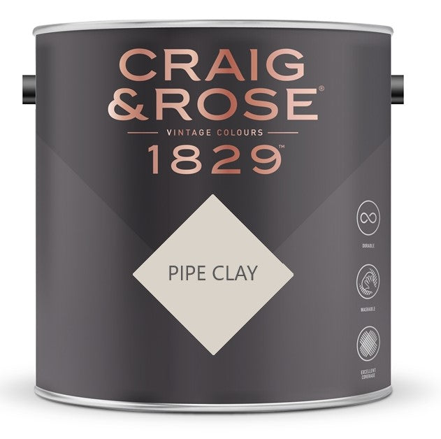Craig & Rose 1829 Pipe Clay Tin